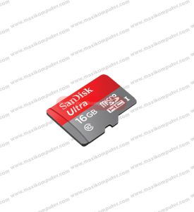 Micro SD Sansdisk Ultra 16GB Class 10 80Mb/s