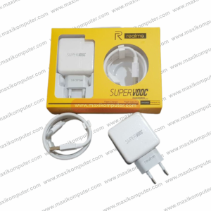 Charger Realme Super Vooc Flash Charge Single Port Micro USB 5V 4A 20W