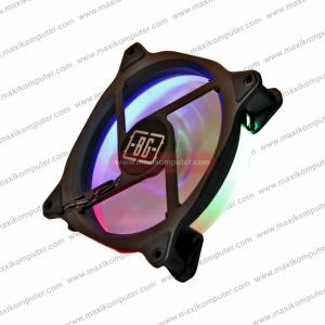 Kipas Casing Simbadda Battleground F2 RGB Single Ring Silent Fan 120mm