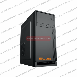 Casing Alcatroz Futura Black Pro 6000 SPCC Incl 450 Watt PSU
