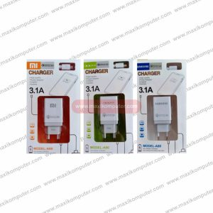 Charger Branded Model-A80 Qualcomm Quick Charge 3.0 5V 3.1A