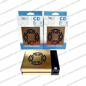 Cooling Pad XtecGo CD BOX 602 Dual Fan Lipat