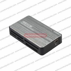 Card Reader Rexus RXC-208 6 Slots Aluminium Material USB 2.0