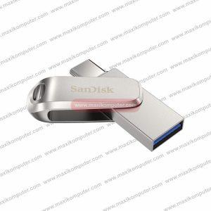 Flashdisk SanDisk Ultra Dual Drive Luxe USB Type-C 64GB