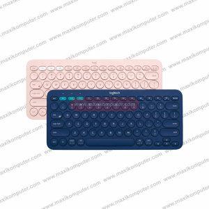 Keyboard Bluetooth Logitech K380 Multi-Device Slim & Beautiful Design