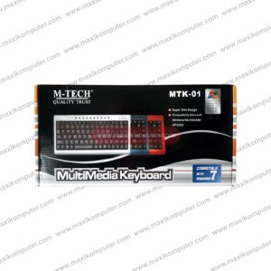 Keyboard M-Tech MTK-01 Multimedia Ergonomic Mini Design