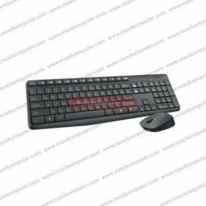 Keyboard Mouse Wireless Logitech MK235 Low Profile Switch