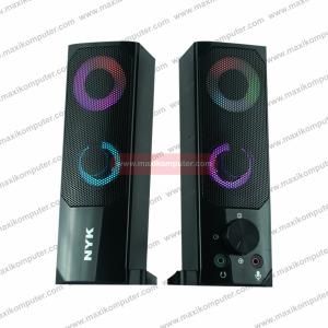 Speaker NYK SP-N05 Stereoscopic 3D Games Stereo Audio RGB Lighting