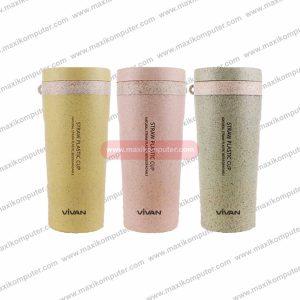 Gelas Vivan 2245J Natural Straw Wheat Double Wall Cup
