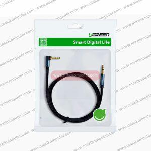 Kabel Audio Ugreen 60181 AV112 3.5mm Straight to 90° 2M