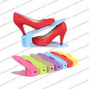 Rak Sepatu Mini Adjustable Korean Candy Shoe