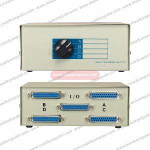 Switch Printer DB25 4 Port Manual Switch Box Data Transfer