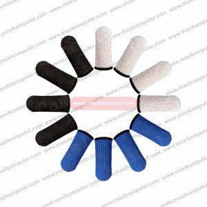 Sarung Jempol 1 Pair Sweatproof Anti Slip Finger Cots